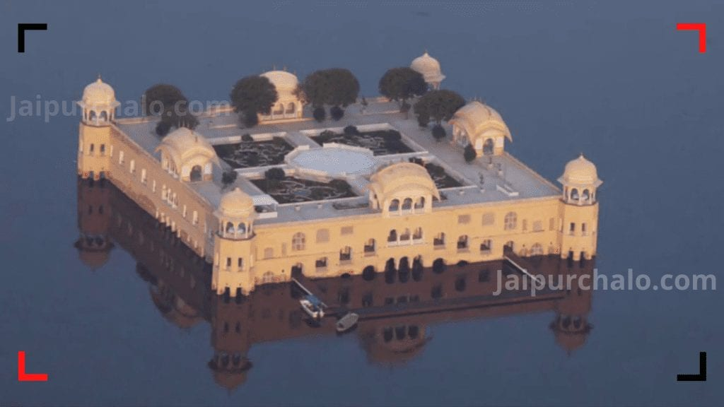 architecture of jal mahal in jaipur