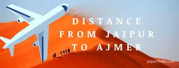Distance From Jaipur to Ajmer(1)