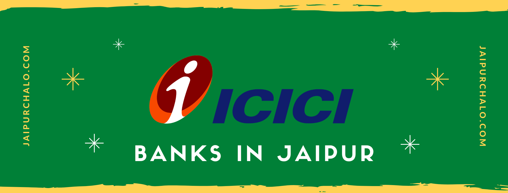 Branches of ICICI bank in jaipur