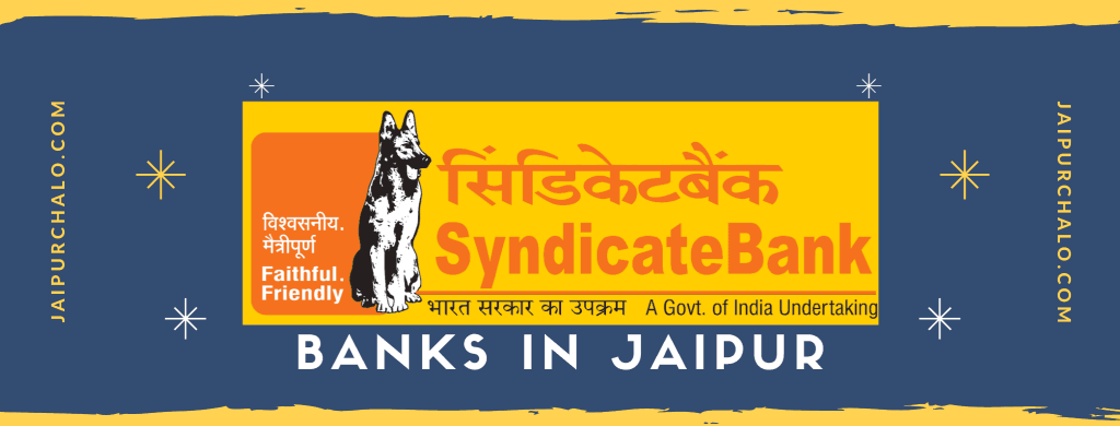 Syndicate bank in jaipur