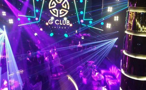 g club nightlife in jaipur